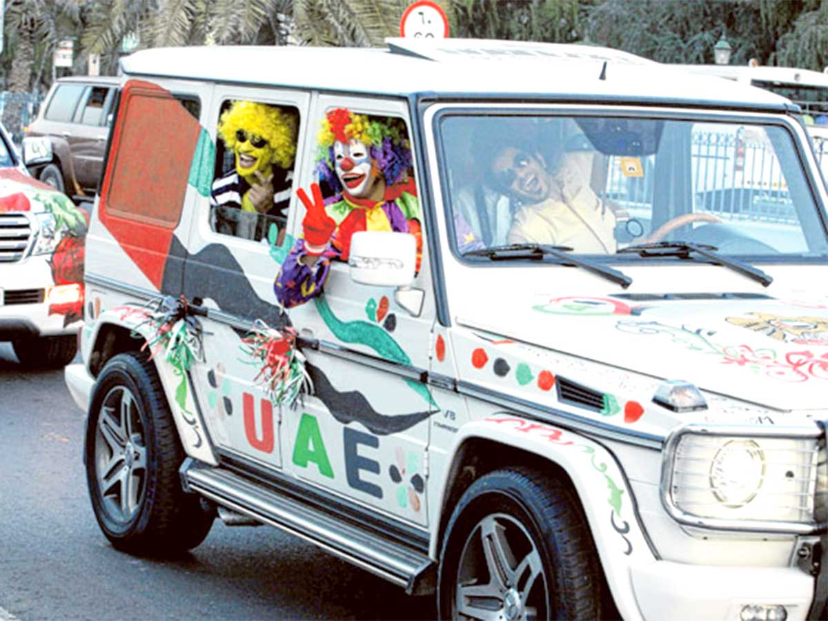 how to avoid dh2,000 traffic fine on uae national day