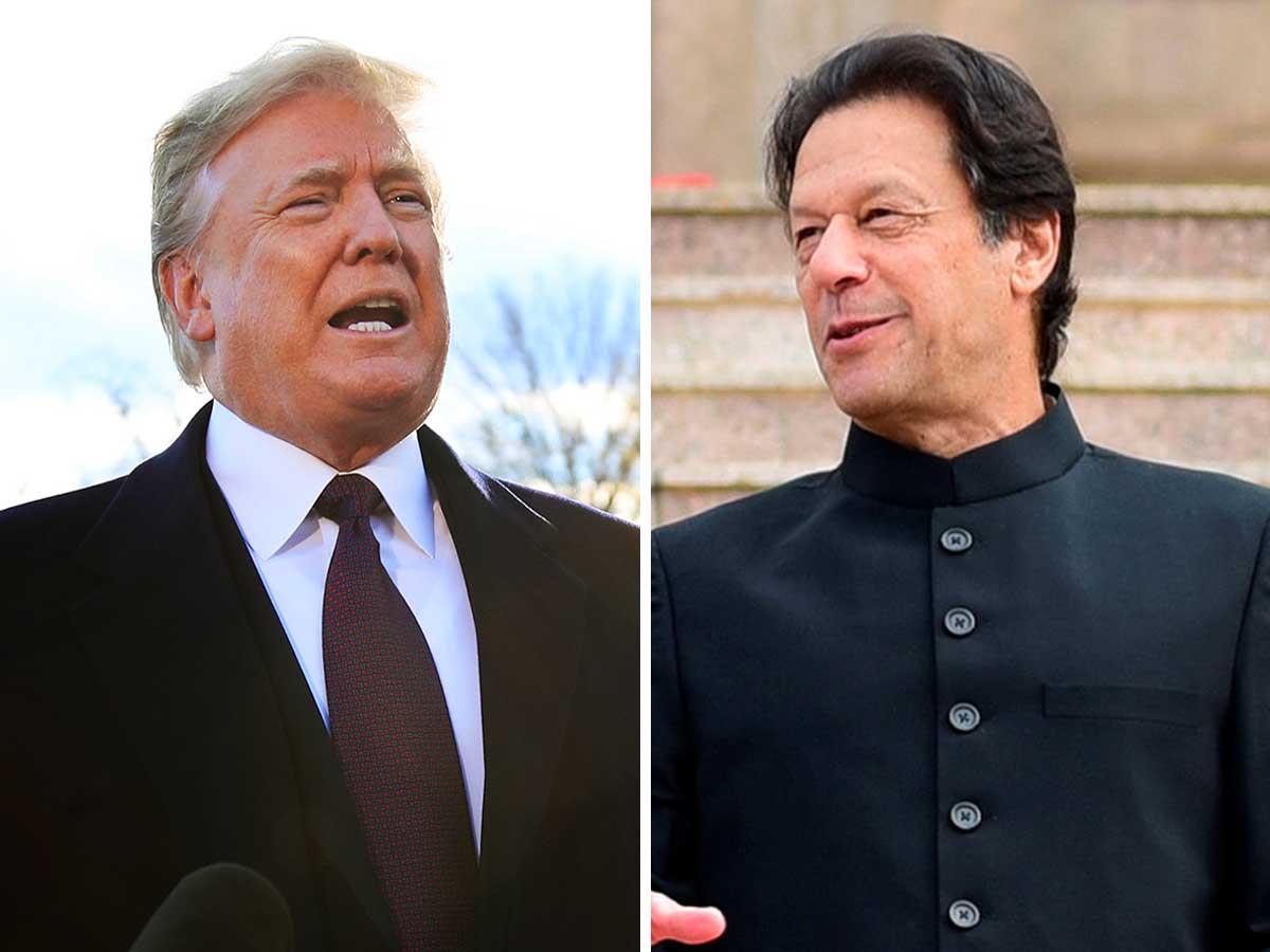 Image result for Trump vs Imran Khan
