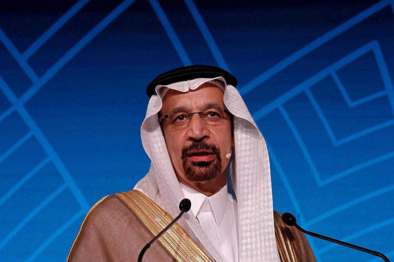 Saudi Energy Minister Khalid Al Falih on Sunday said the Kingdom would cut production by 500,000 barrels a day in December.