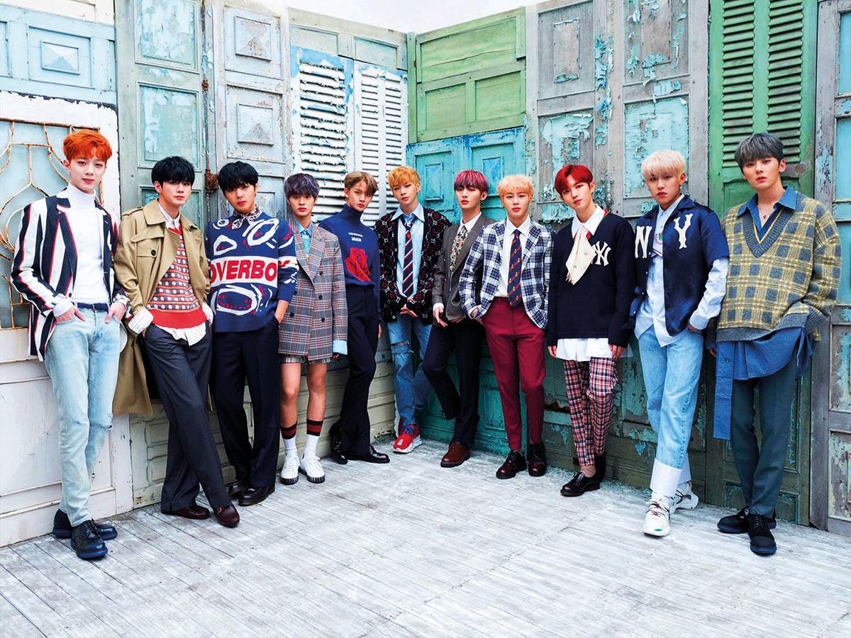 K Pop Corner Wanna One S Spring Wind Leaks Online