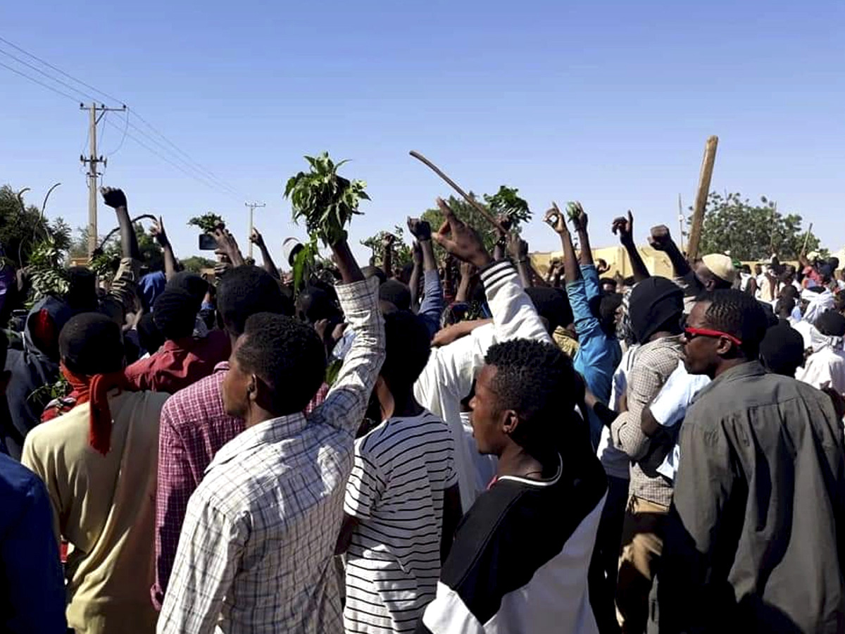 Protest News: Amnesty: 37 Protesters Killed In Sudan Crackdown