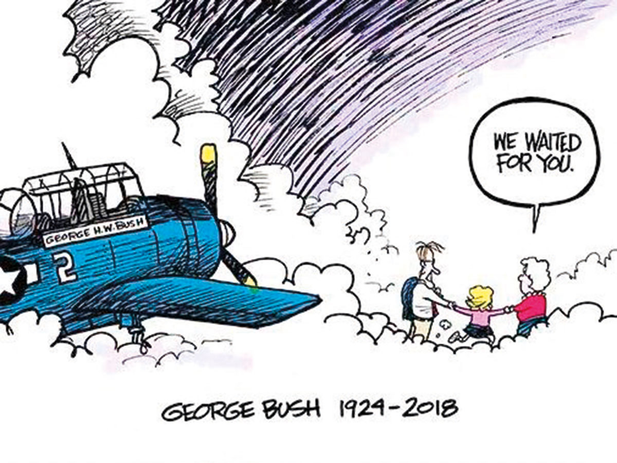 This Bush Cartoon Went Viral Touching Even His Family