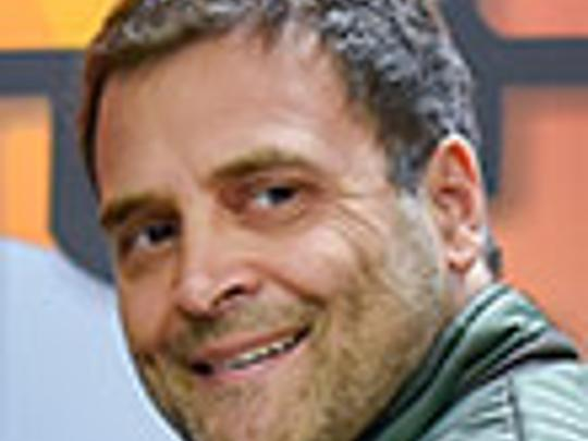 What will Rahul Gandhi address in Dubai event?