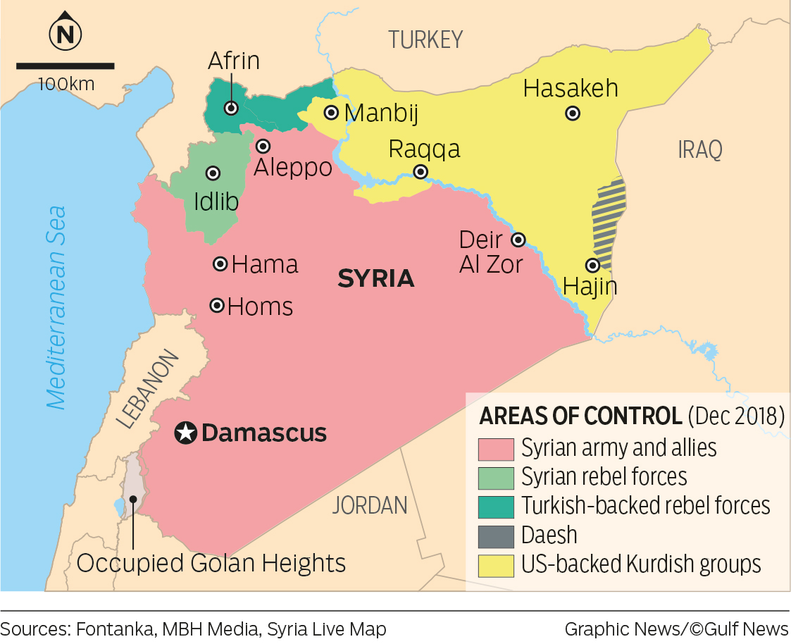 Syria brittle future: The post-American Middle East