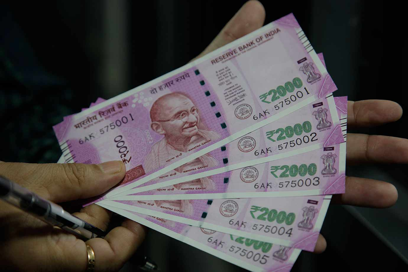 The Indian Ru Has Strengthened Slightly Against Us Dollar Image Credit File Photo