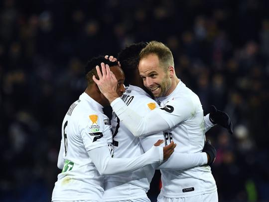 PSG stunned by Guingamp in French League Cup