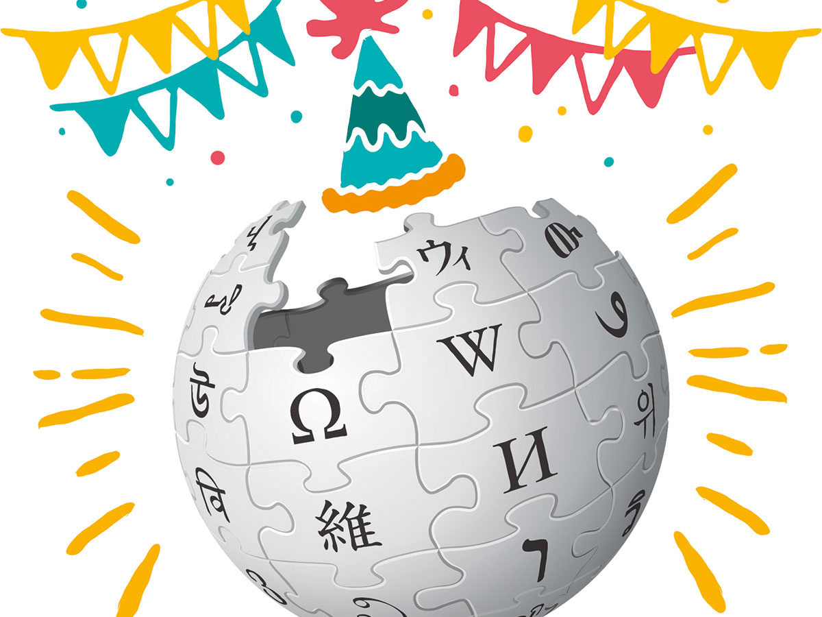 Celebrating Wikipedias 18th Birthday