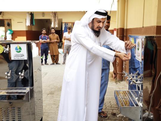 Dar Al Ber Society installs 100 water coolers across Dubai