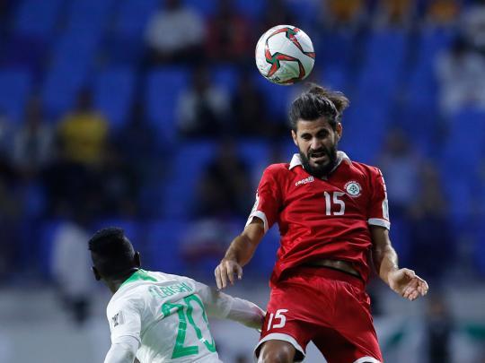 Asian Cup: Saudi Arabia roll through, beat Lebanon