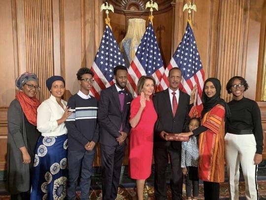 Muslim Congresswoman Ilhan Omar Makes Us History