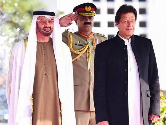 Mohammad Bin Zayed, Imran Khan explore mutual cooperation, regional development