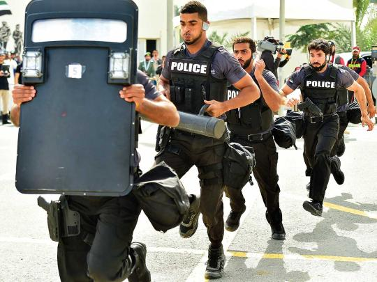 48 SWAT teams from 29 nations compete in Dubai