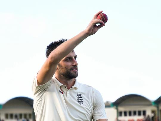 Wood puts England in command against West Indies
