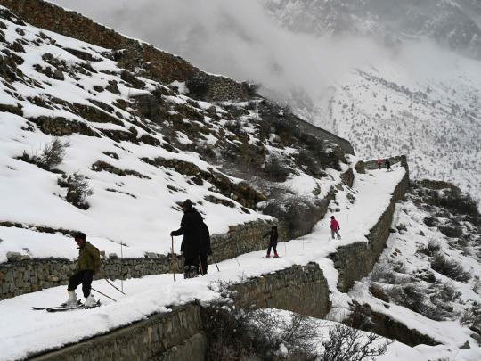 Snow in Pakistan: Perfect slopes for tourists and winter sports enthusiasts