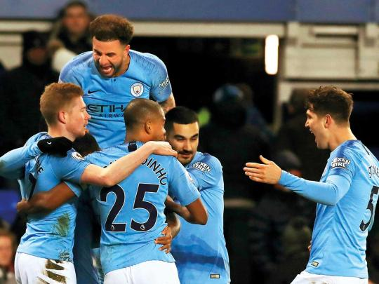 Pep: City going top is a lesson in not giving up