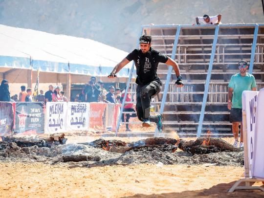 Spartan Race returns to Sharjah's Mleiha desert