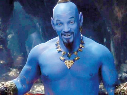 Will Smith Debuts His Genie In 'Aladdin'