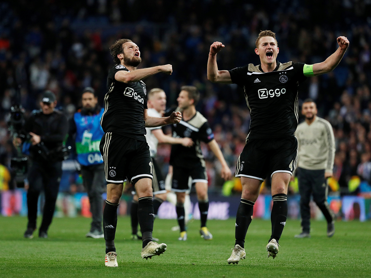 Image result for real madrid ajax