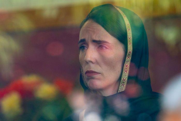 Nz Shooting Hd: New Zealand PM Jacinda Ardern, Wearing Hijab, Meets