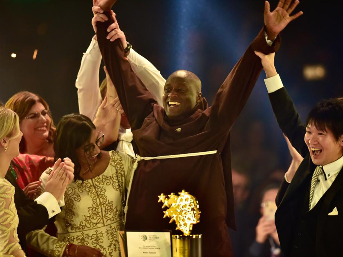 Global Teacher Prize Gala 2019 edition in Dubai: $1 million prize for Kenyan educator Peter Tabichi
