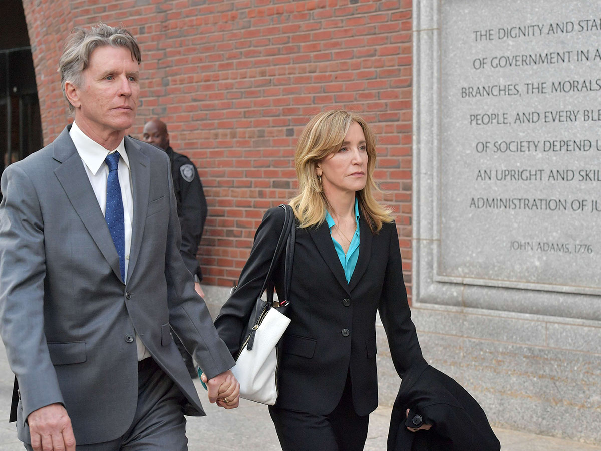 Hollywood stars in court in college admissions bribery case