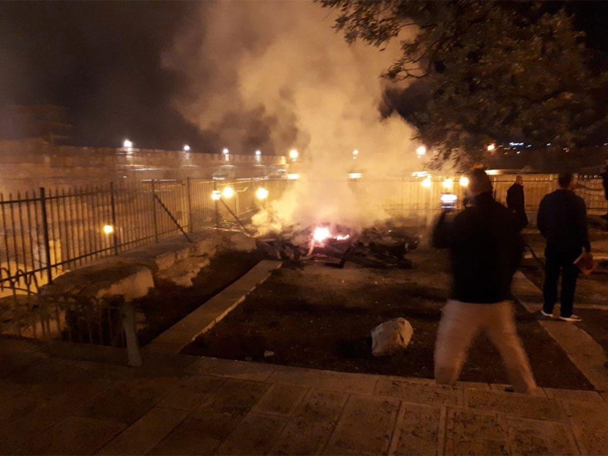 Al Aqsa mosque catches fire same time as Notre Dame cathedral