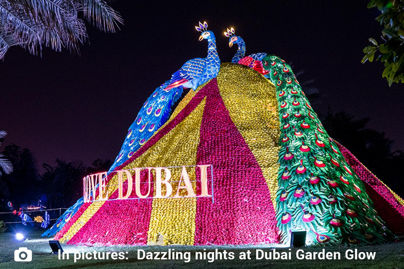 Dubai Garden Glow Here S Where The Children Play And Learn Uae Gulf News