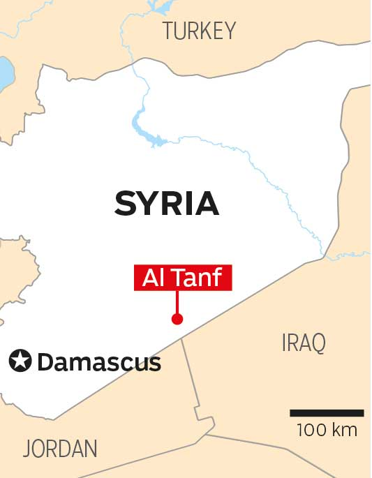Coalition forces reinforce at key Al Tanf garrison in Syria | Mena ...