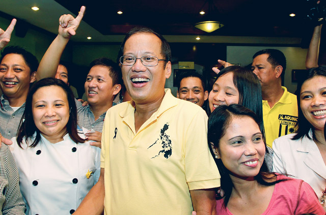 Image result for aquinO SUPPORTERS