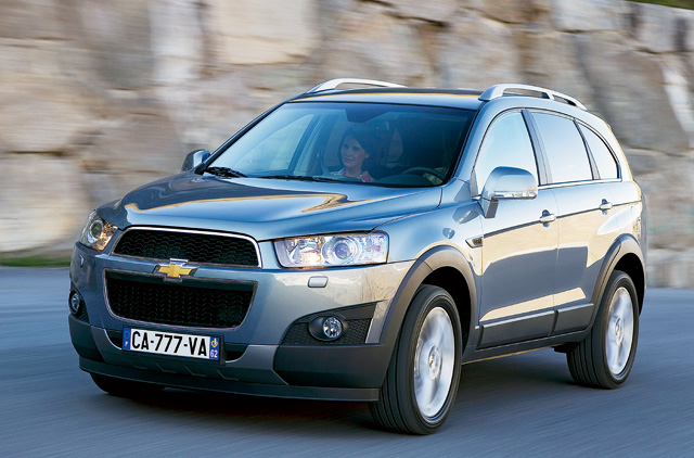 Chevy Captiva Is A Good Blend Of Looks And Features