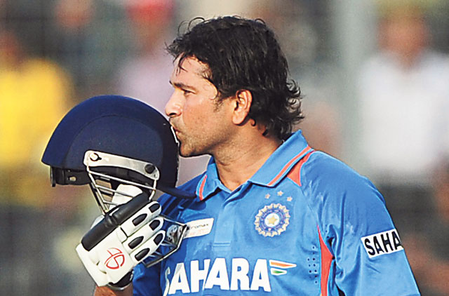 Sachin Walks Away From One Day Cricket