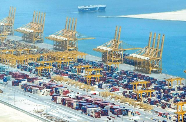 Jebel Ali the world's most productive port