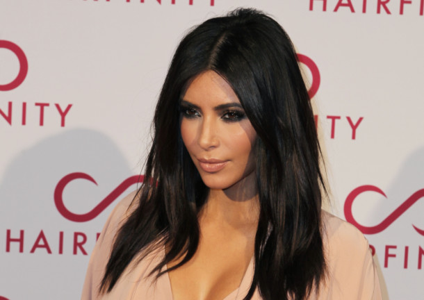 Kim Kardashian Poses For Photographers On Her Arrival At The Hairfinity Party In Central London Saay Nov 8 2017