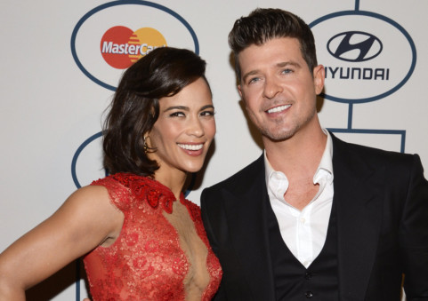 Robin Thicke Paula Patton Ending Marriage