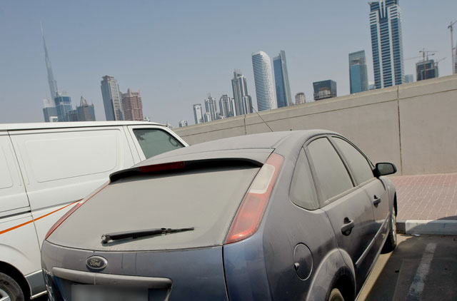 Impound Cars For Sale >> Vacationers face penalties for leaving cars dirty on Dubai ...