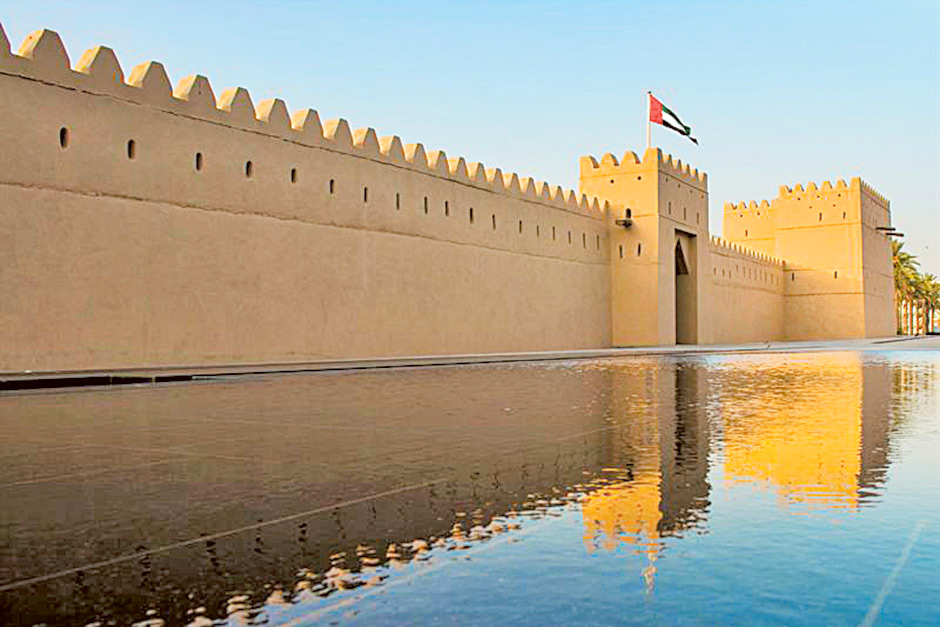 Image result for Qasr Al Muwaiji (Abu Dhabi)