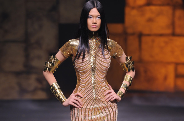 Another Dress By Dubai Based Designer Michael Cinco Which Will Feature In Jupiter Ascending Image Credit