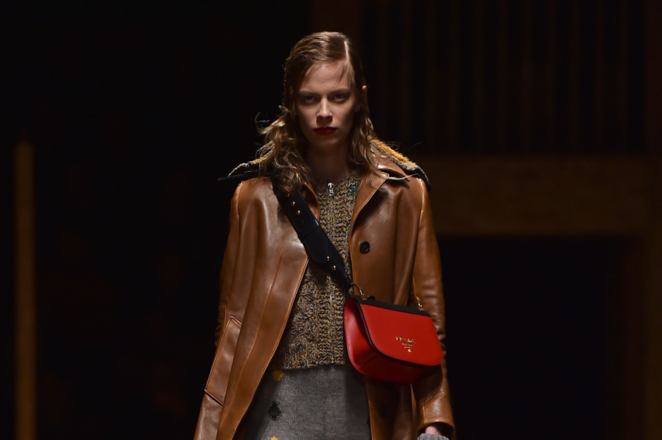 A model presents a creation for fashion house Prada during the Men Fall - Winter  2016   2017 collection shows at the Milan s Fashion Week. Image Credit  AFP 5348fe74bc9c2