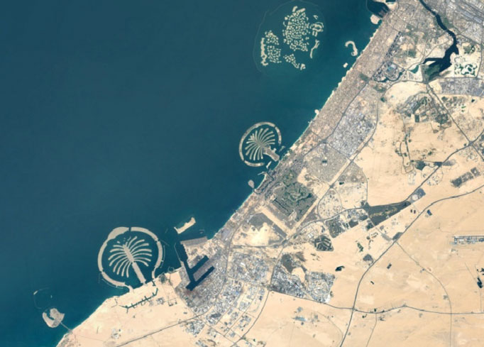 Dubai Gets Higher Resolution Update On Google Earth
