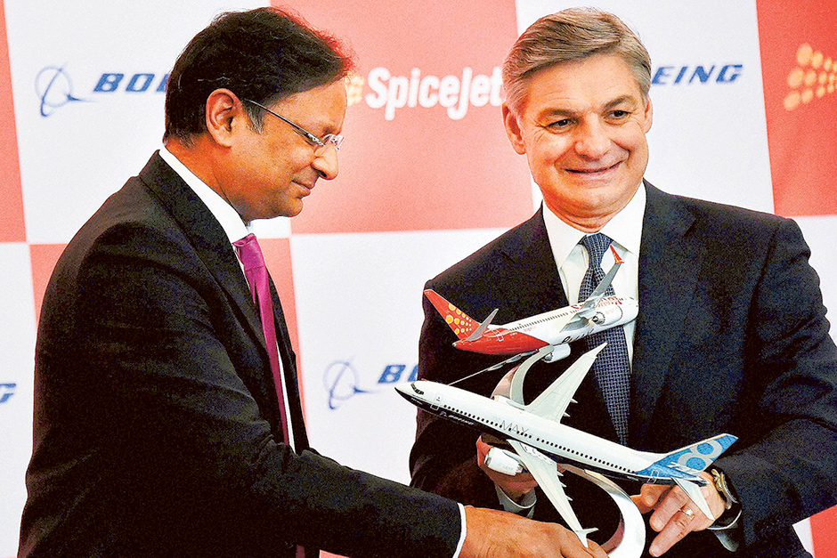 Boeing scores a $22b win with SpiceJet deal
