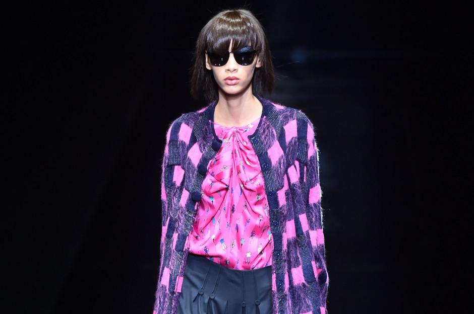 Milan Fashion Week  Armani brings colour to the catwalk 90c55932c68