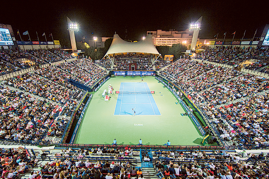 More Tickets Available Online For Dubai Duty Free Tennis Championships