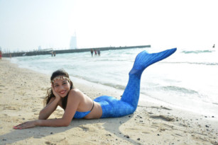 Transform Yourself Into A Mermaid At Kite Beach