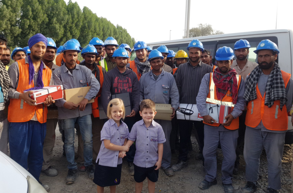 5 Year Old Twins Give Up Birthday Gifts To Help Workers