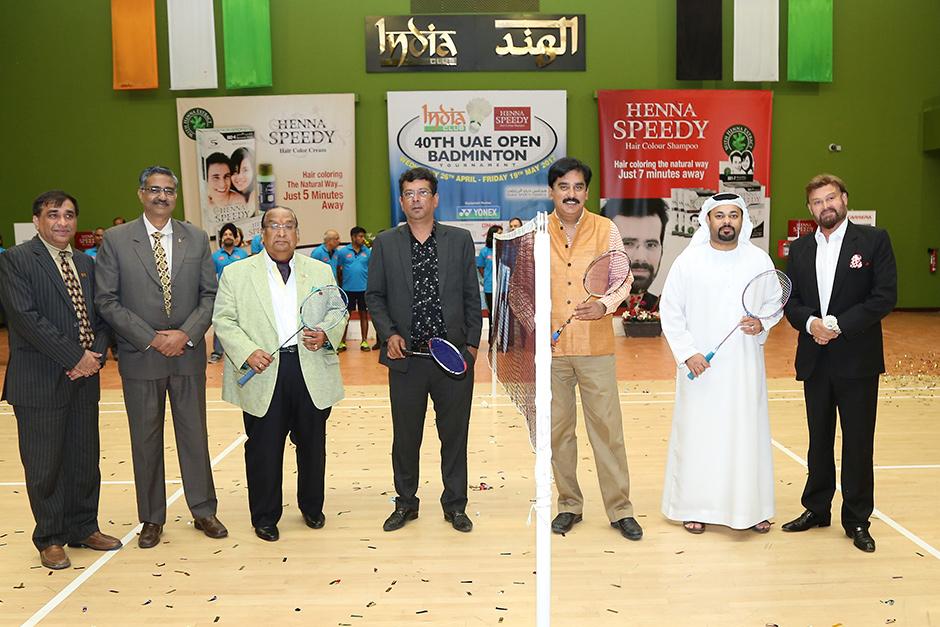 India Club Uae Open Badminton Tournament Inaugurated