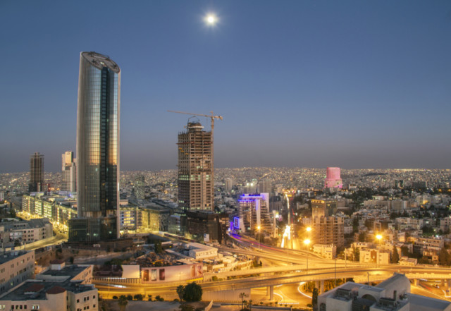 A New Central Business District In Rising Ammans Northern Of Al Abdali Image Credit Shutterstock