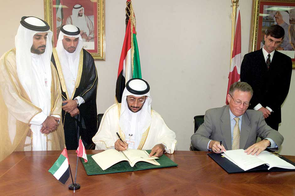 June 9 2002 Uae Signs Tax Accord With Canada
