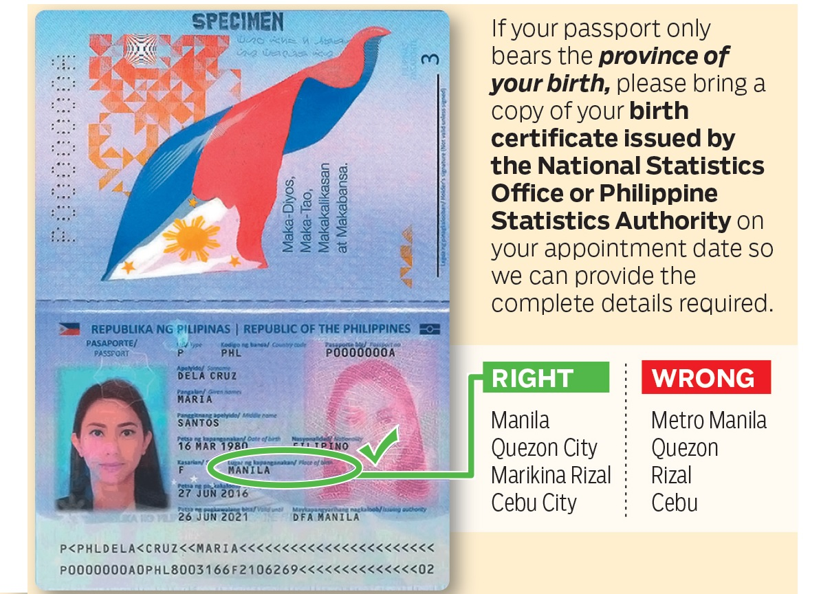 Bring Birth Certificate If Your Passport Says This Filipinos Told