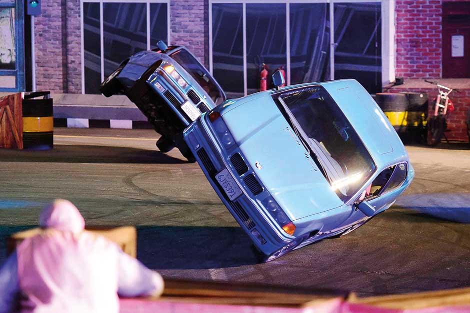 Monster Stunt Show Fast Furious Fantastic