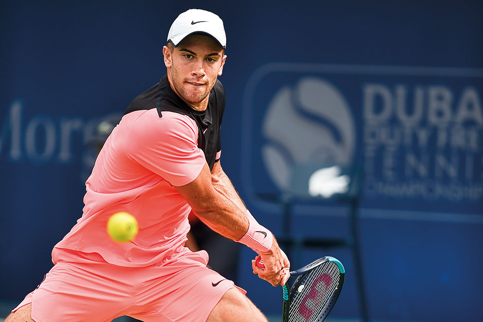 Coric Steps On The Gas